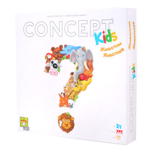 Настольная игра Концепт для детей животные