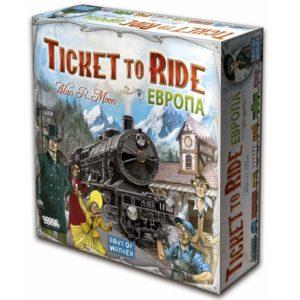 Билет на поезд Европа Настольная игра