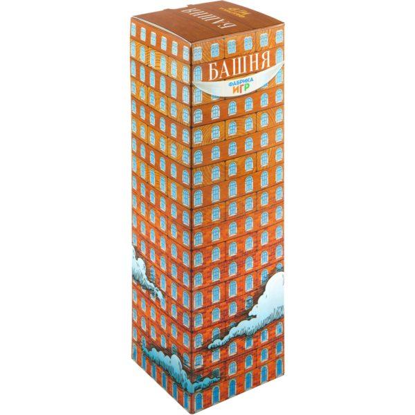 Настольная игра Башня (54 бруска)
