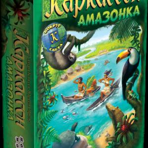 Настольная игра Каркассон. Амазонка
