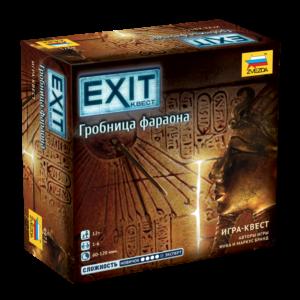 Настольная игра Гробница Фараона. Exit-квест