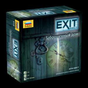 Настольная игра Заброшенный дом. EXIT-квест