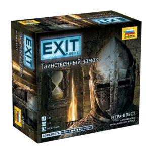 Настольная игра Таинственный замок. EXIT-Квест