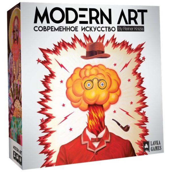Современное искусство игра настольная