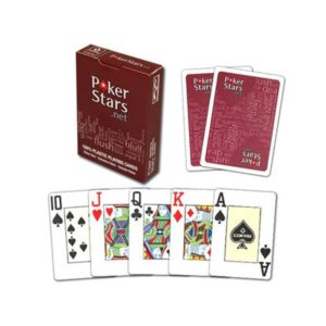 Карты для покера Pokerstars КРАСНЫЕ