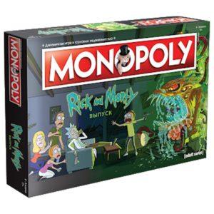 Настольная игра Монополия. Рик и Морти