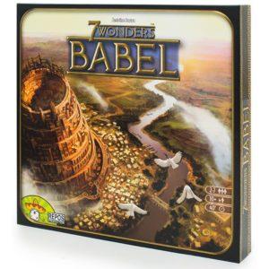 Настольная игра 7 Чудес. Вавилон (дополнение)