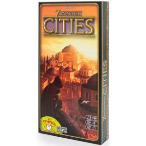 Настольная игра 7 Чудес. Города (дополнение)