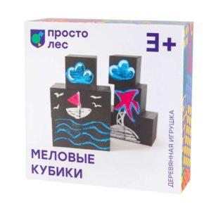 Развивающая игрушка Меловые кубики