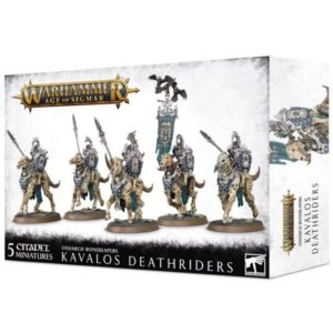 Миниатюры Age of Sigmar. Ossiarch Bonereapers. Kavalos Deathriders