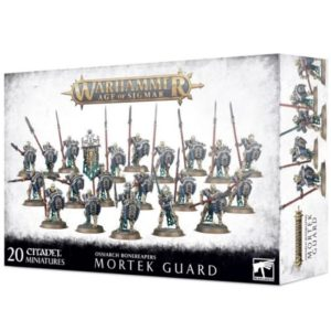 Миниатюры Age of Sigmar. Ossiarch Bonereapers. Mortek Guard