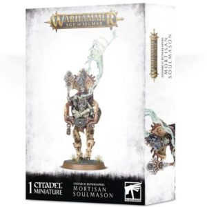 Миниатюры Age of Sigmar. Ossiarch Bonereapers. Mortisan Soulmason