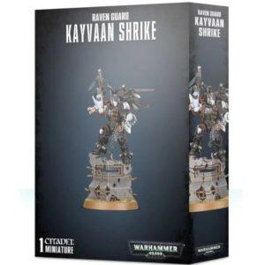 Миниатюры Warhammer 40000 Raven Guard Kayvaan Shrike