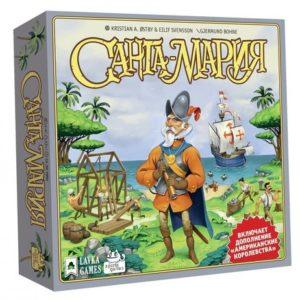 Санта-Мария настольная игра