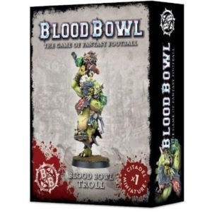 Миниатюра Blood Bowl Troll