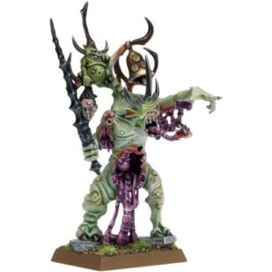 Миниатюры Age of Sigmar Daemons of Chaos Herald of Nurgle