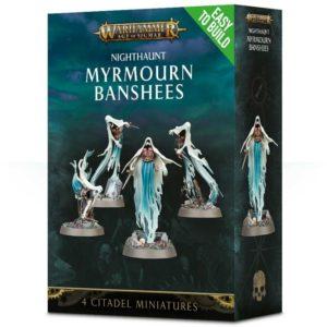 Миниатюры Age of Sigmar Myrmourn Banshees