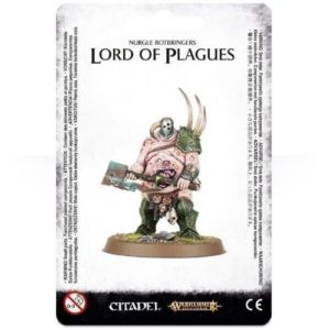 Миниатюры Age of Sigmar Nurgle Rotbringers Lord of Plagues