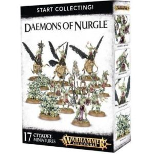 Миниатюры Age of Sigmar Start collecting Daemons of Nurgle