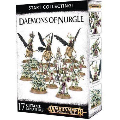 Миниатюры Age of Sigmar Start collecting Daemons of Nurgle