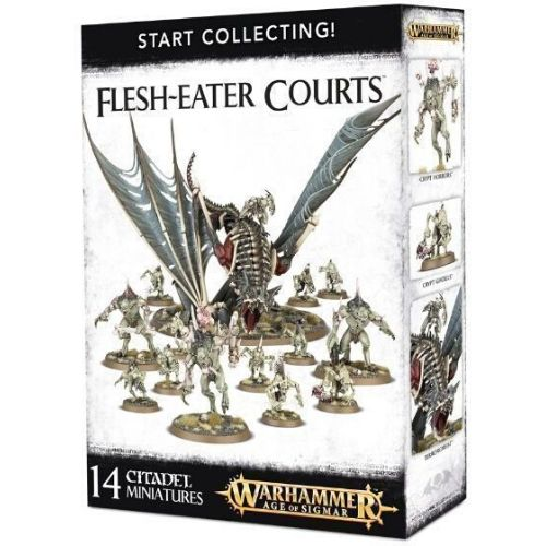 Миниатюры Age of Sigmar Start collecting Flesh-eater Courts
