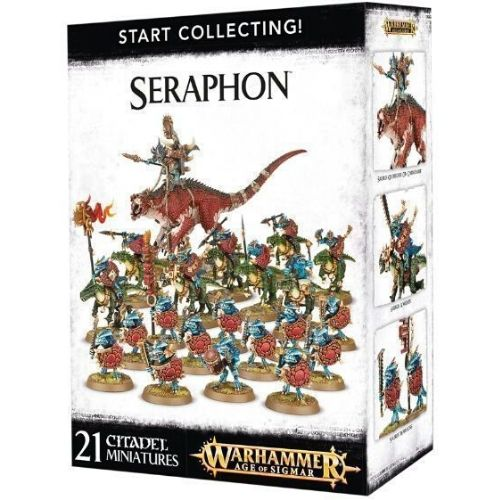 Миниатюры Age of Sigmar Start collecting Seraphon