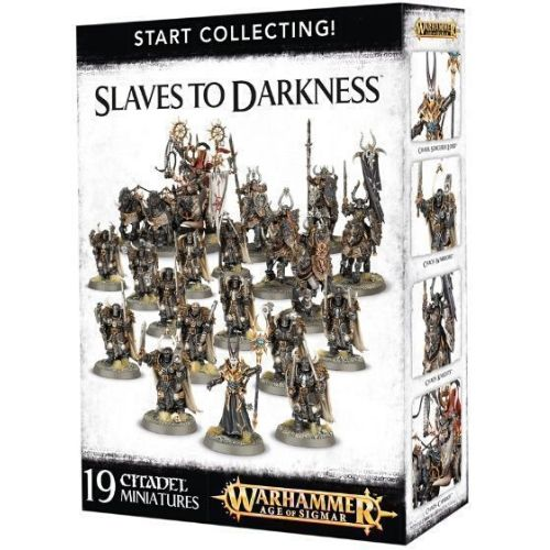 Миниатюры Age of Sigmar Start collecting Slaves to Darkness