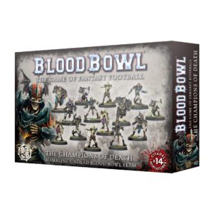 Миниатюры Blood Bowl Champions of Death