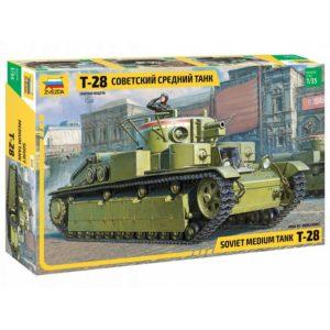 Модель Танка Т 28