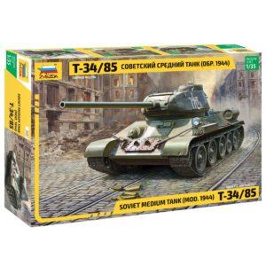 Модель Танка Т-34 85