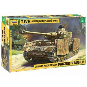 Модель немецкого танка T-IV H
