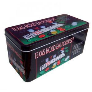 Набор для покера на 200 фишек Holdem Light