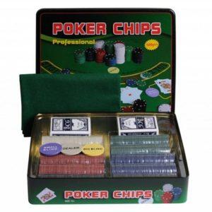 Набор для покера на 500 фишек Holdem Light