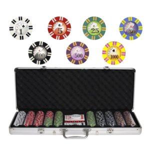 Набор для покера на 500 фишек Royal Flush