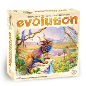 Эволюция Естественный отбор настольная игра