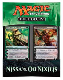 MTG Дуэльный набор Nissa vs Ob Nixilis