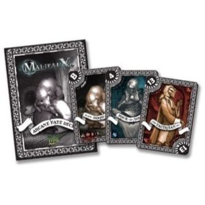 Malifaux Black Arcane Fate Deck