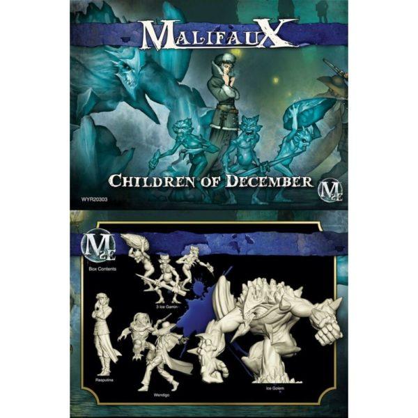 Malifaux Children of December Crew