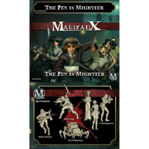 Malifaux The Pen is Mightier