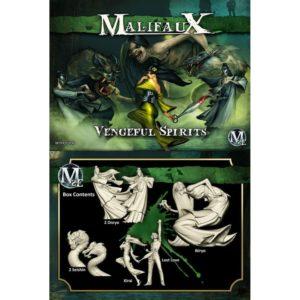 Malifaux Vengeful Spirits