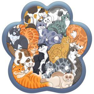 Зоопазл Кошки