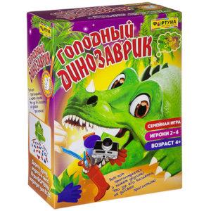 Игра Голодный динозаврик