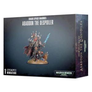 Миниатюры Warhammer 40000 Abaddon the Despoiler