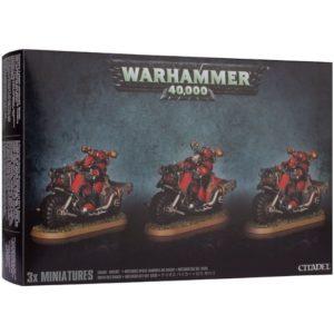 Миниатюры Warhammer 40000 Chaos Bikers