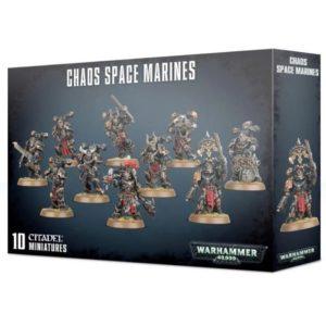 Миниатюры Warhammer 40000 Chaos Space Marines 2019