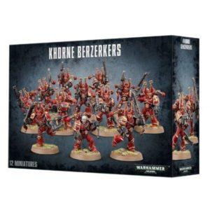 Миниатюры Warhammer 40000 Chaos Space Marines Khorne Berzerkers