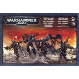 Миниатюры Warhammer 40000 Chaos Space Marines Possessed