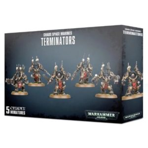 Миниатюры Warhammer 40000 Chaos Space Marines Terminators