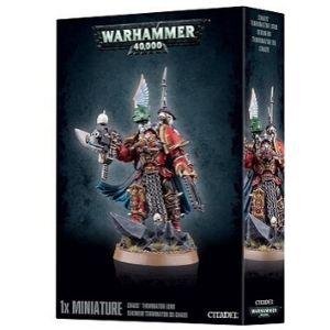 Миниатюры Warhammer 40000 Chaos Terminator Lord