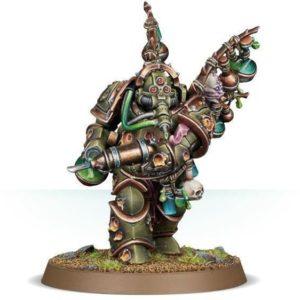 Миниатюры Warhammer 40000 Death Guard Biologus Putrifier